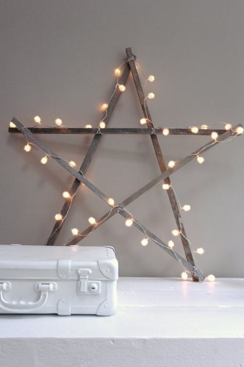 Christmas Star DIY from Vosges Paris
