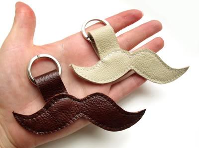 Mustache Keychain | Etsy Russian Team