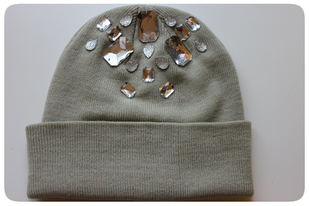 Bejeweled Beanie from M&J Trimming