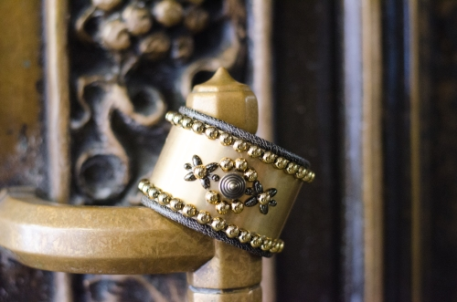 Project DIY Joan of Arc Warrior Cuff