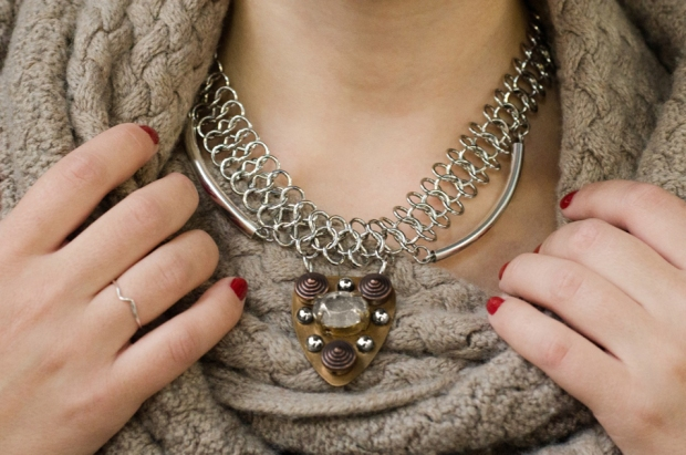 Joan of Arc Statement Necklace | M&J Trimming