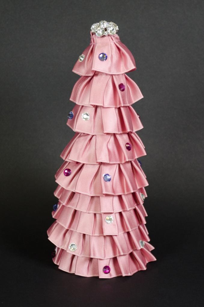 Ribbon Tree DIY Finished Pink | M&J Trimming