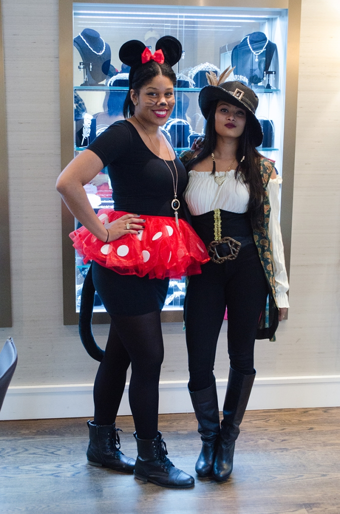 Minnie and Pirate M&J Halloween Pageant