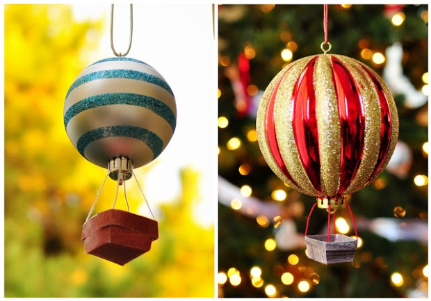 Hot Air Balloon Ornament from My Modern Met