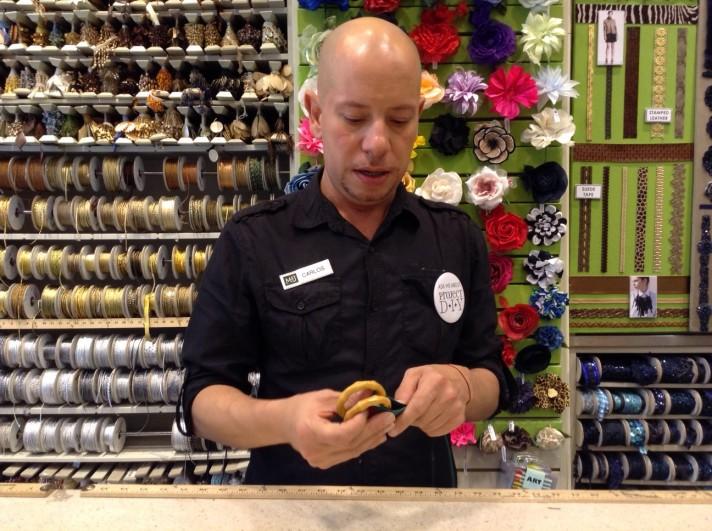 Gucci Inspired Belt DIY Bamboo Rings | M&J Trimming