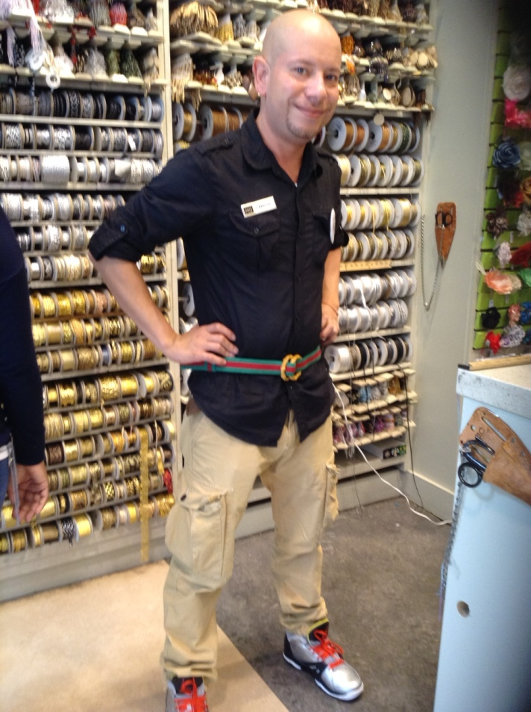 Gucci Inspired Belt DIY Carlos | M&J Trimming