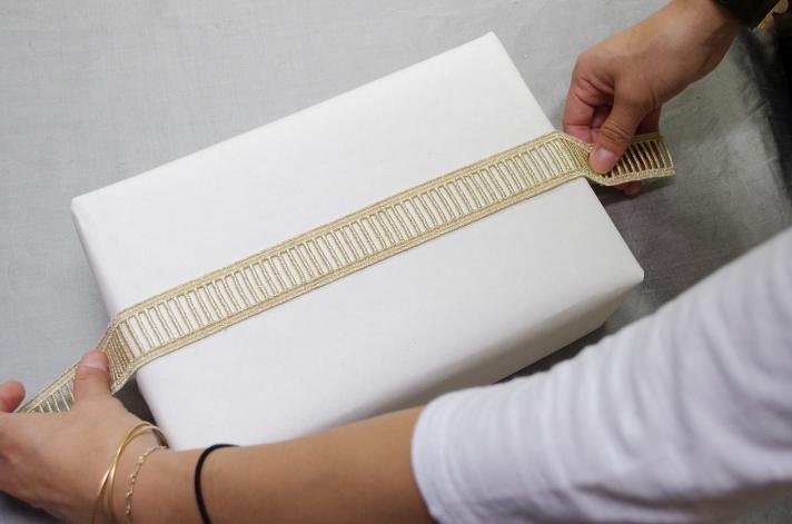 Glamorous Large Package DIY Gold Ladder Ribbon | M&J Trimming