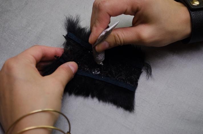 Glamorous Large Package DIY Fur Decal   M&J Trimming