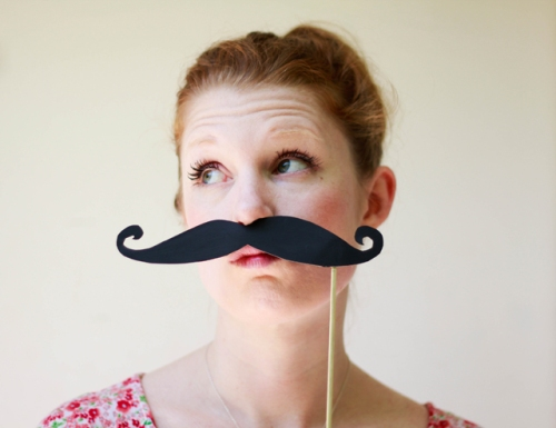 Mustache Photo Prop | My Calico Skies