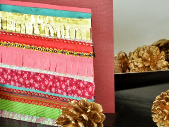 Ribbon Holiday Card from HGTV | M&J Trimming