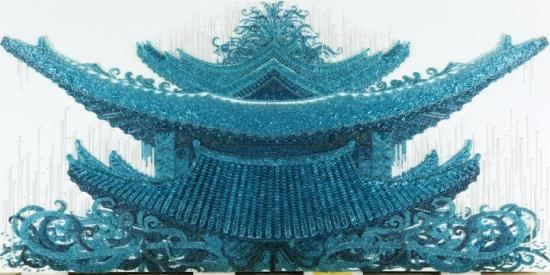 Ran Hwang Button Art