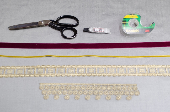 Glamorous Small Package DIY Materials   M&J Trimming