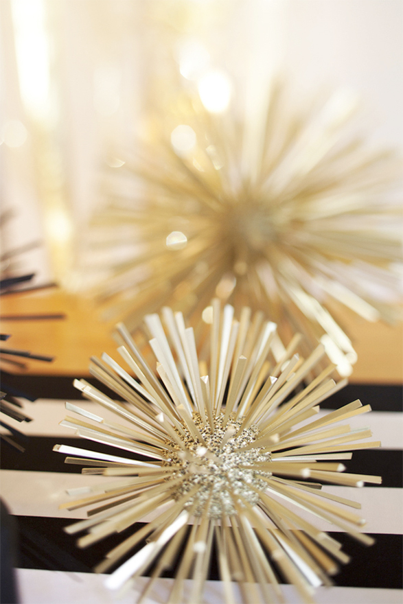Glitter Spiked Balls from the Sweetest Occasion