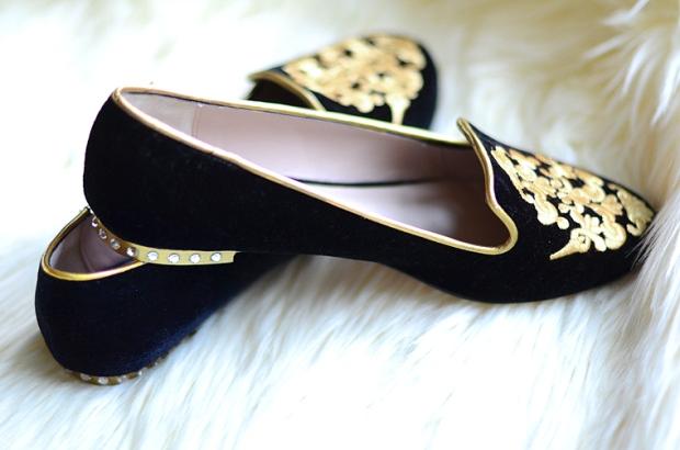 Miu Miu Smoking Slippers from Oh My Vogue