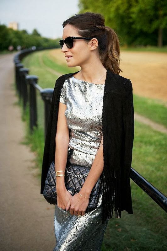 Sequin Dress Cashmere Mafia