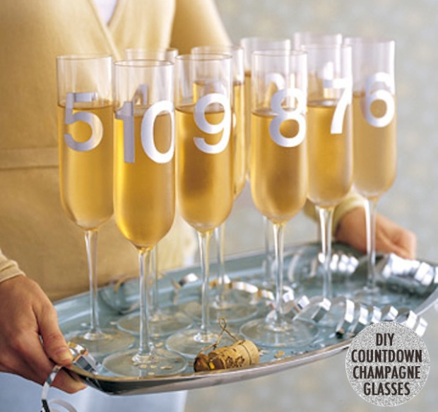 New Year's Countdown Champagne from Martha Stewart