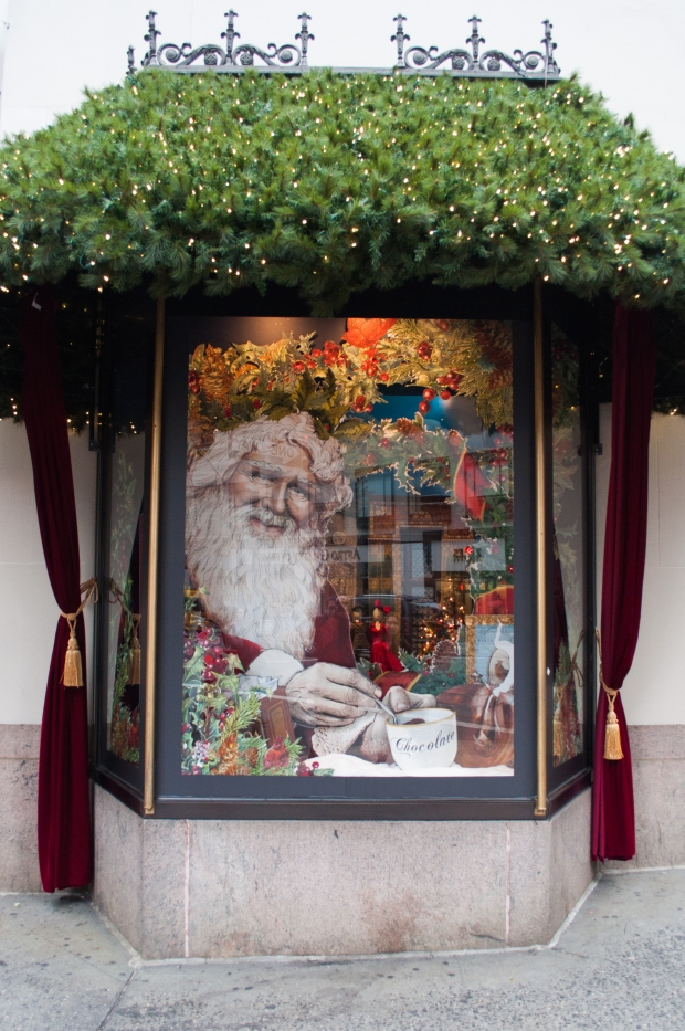 Lord and Taylor Window Santa