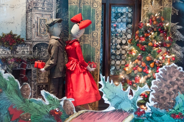 Lord and Taylor Holiday Window