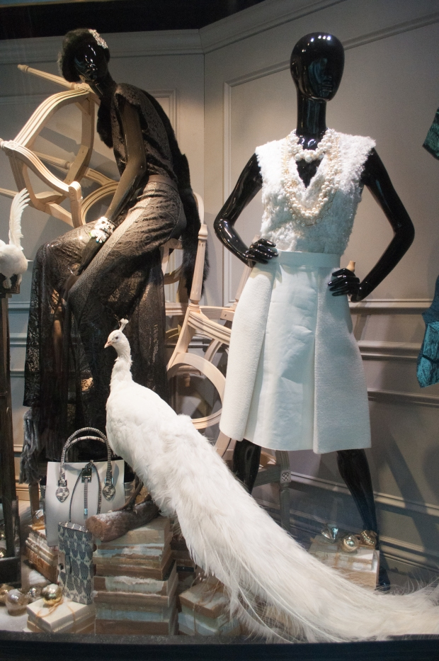 Lord and Taylor Holiday Window Eveningwear