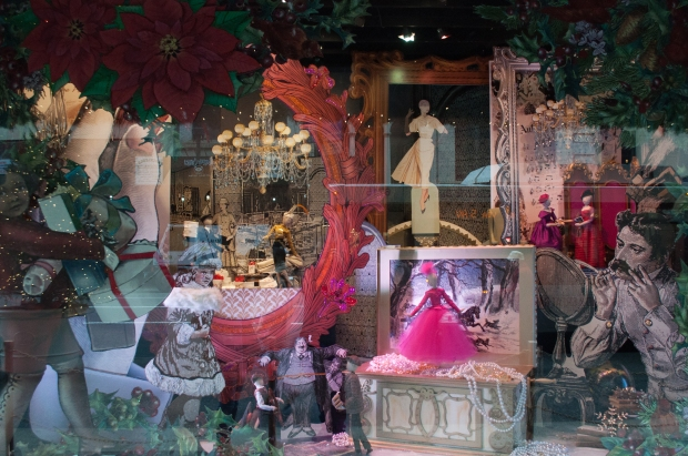 Lord and Taylor Holiday Window Illustrations