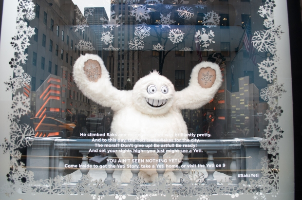 Saks 5th Avenue Yeti Story