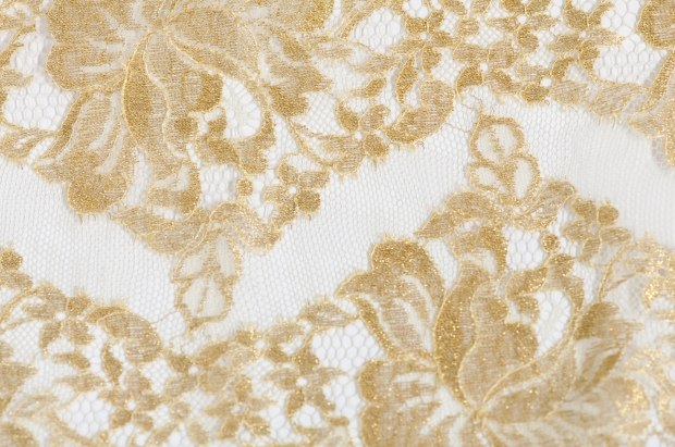 Project DIY: Baroque and Roll Inspiration Gold Lace