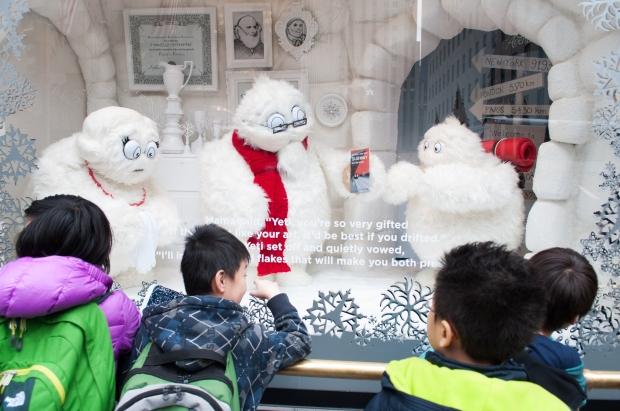 Saks 5th Avenue Yeti Story Family