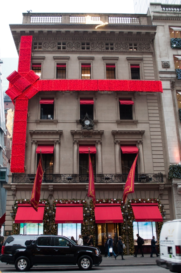 Cartier Holiday Windows