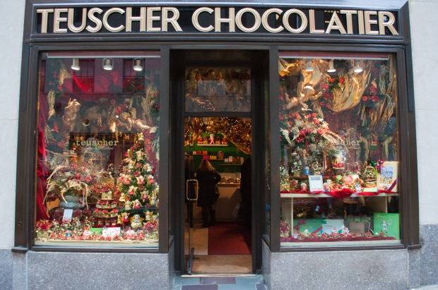 Chocolate Shop Storefront