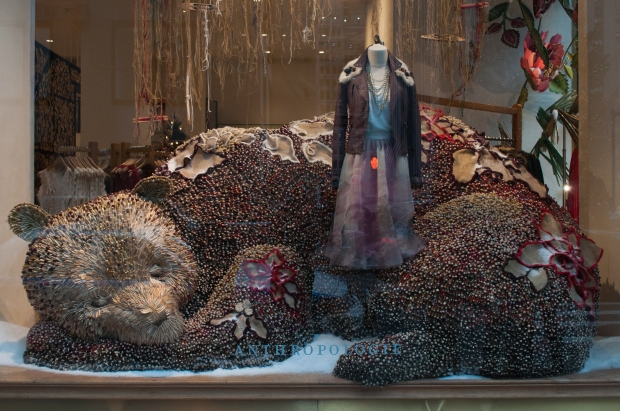 Anthropologie Sleeping Bear Window