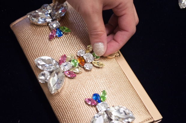 Bejeweled Holiday Clutch Sew-Ons from M&J Trimming