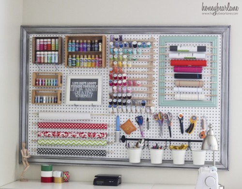 Large Pegboard Tutorial Honey Bear Lane