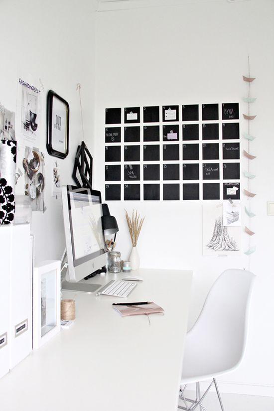 White Workspace