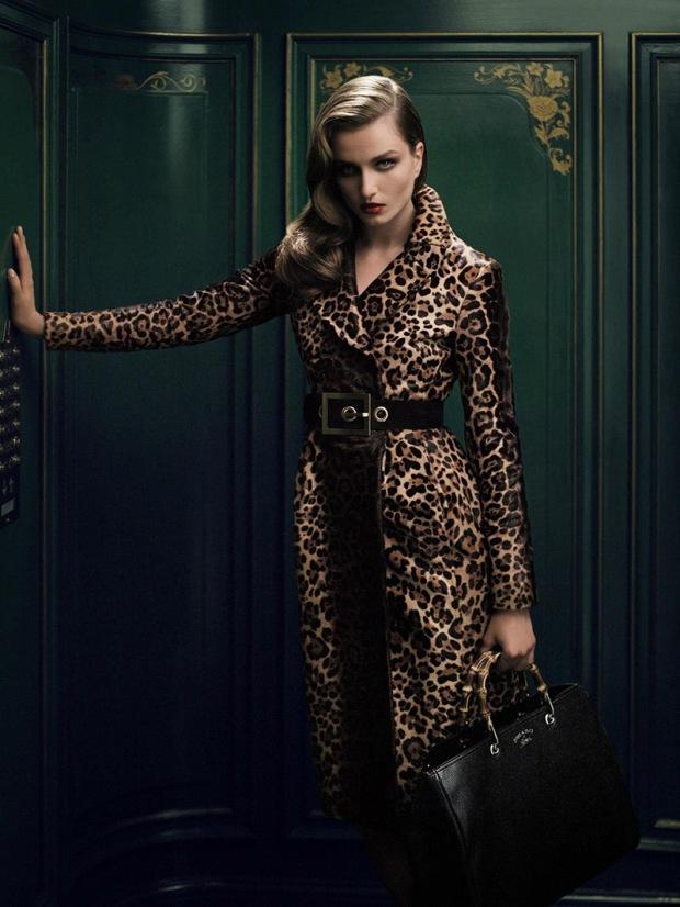 Gucci Bamboo Handbag Campaign