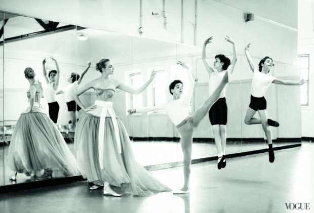 Ballet Class from Vogue