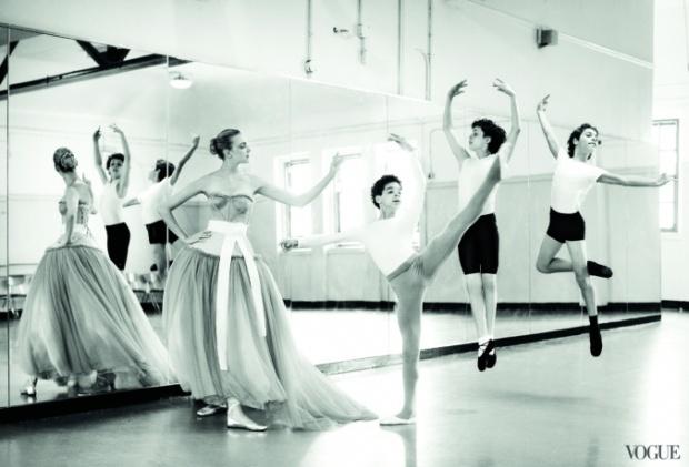 Ballet Class from Vogue