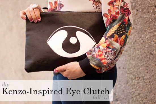 Kenzo-Inspired Clutch from Adventures in Fashion