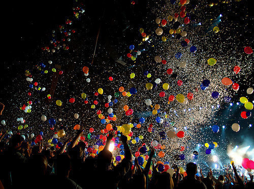 Balloons and Confetti Photo