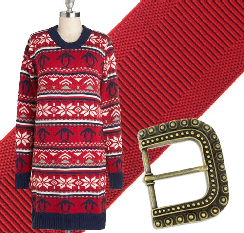 Ugly Sweater Dress