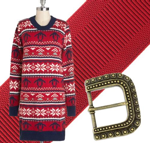 Ugly Sweater Dress