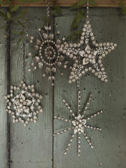 Vintage Star Decorations