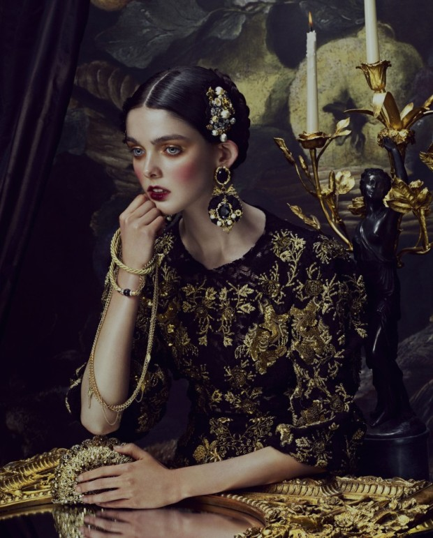 Andrew Yee Baroque Shoot for How to Spend It Magazine