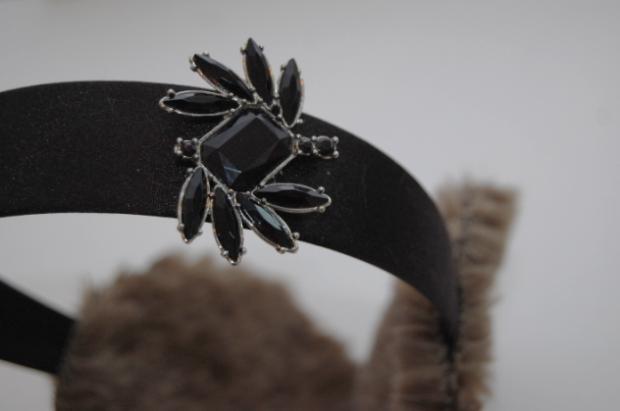 Headband Earmuffs from Studs and Pearls