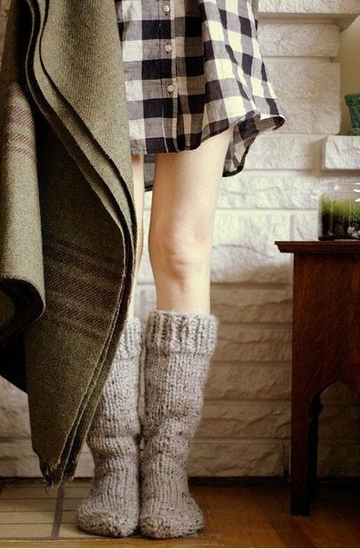 Cozy Wool Socks and Blanket