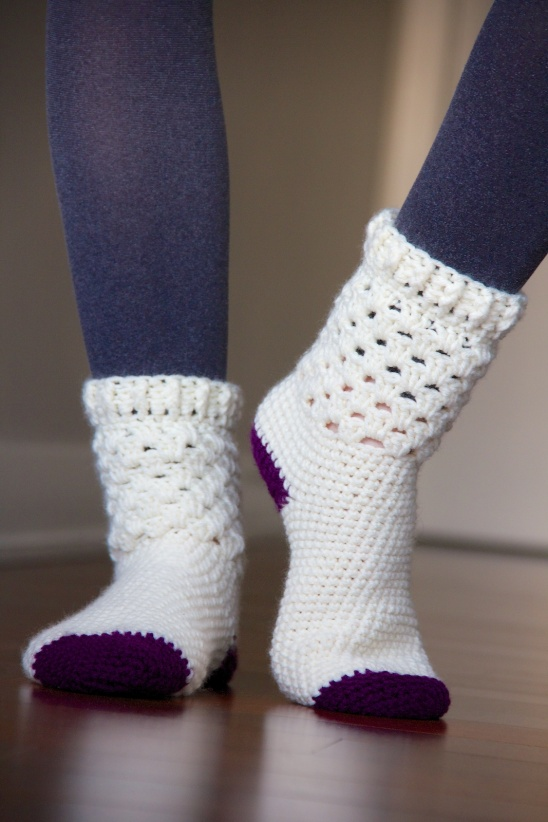 Crochet Socks from Kollabora user Magdalena Langa
