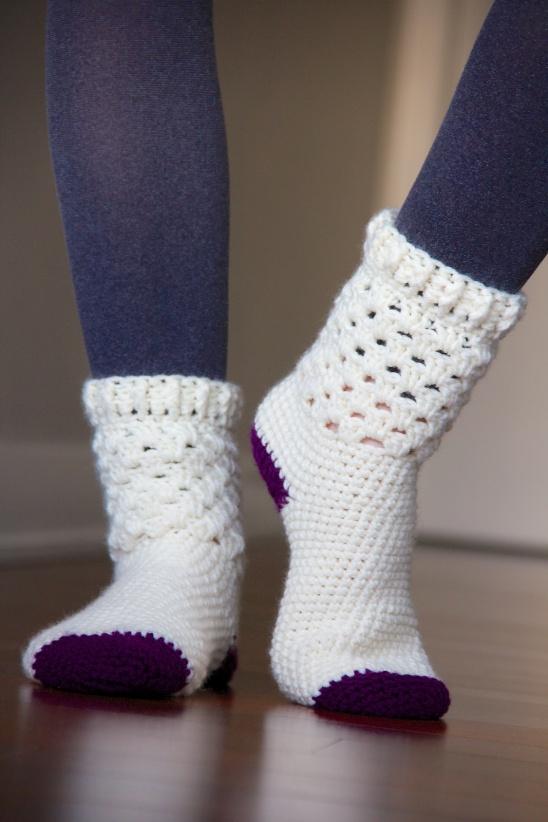 Crochet Socks from Kollabora user Magdalena Langa