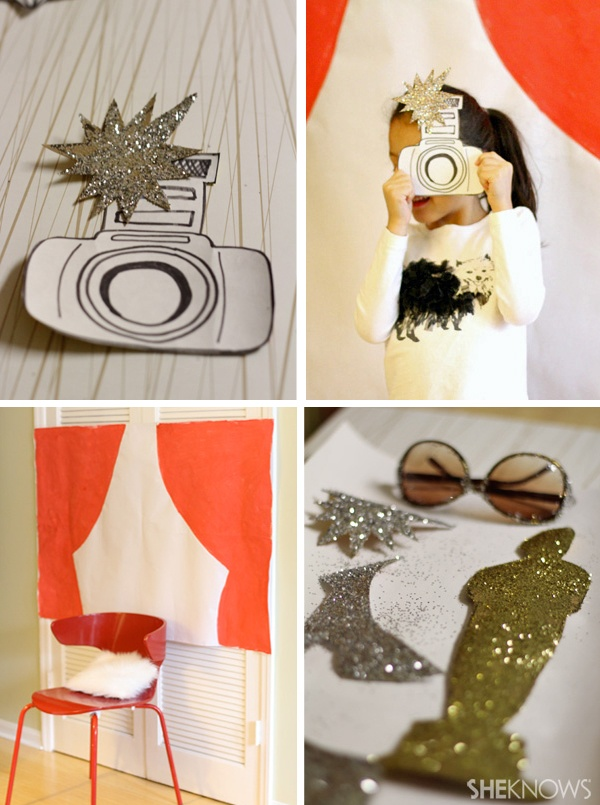 DIY Award Themed Photo Booth from She Knows