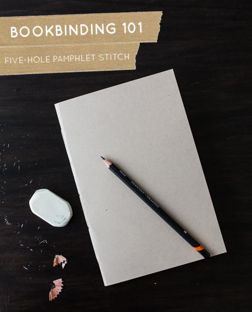 Book Binding 101 from Design Sponge