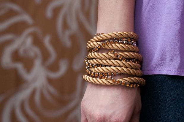 Finished Wrap Bracelet