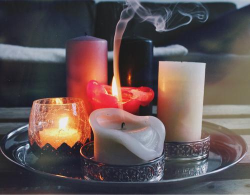 Cozy Warm Candles